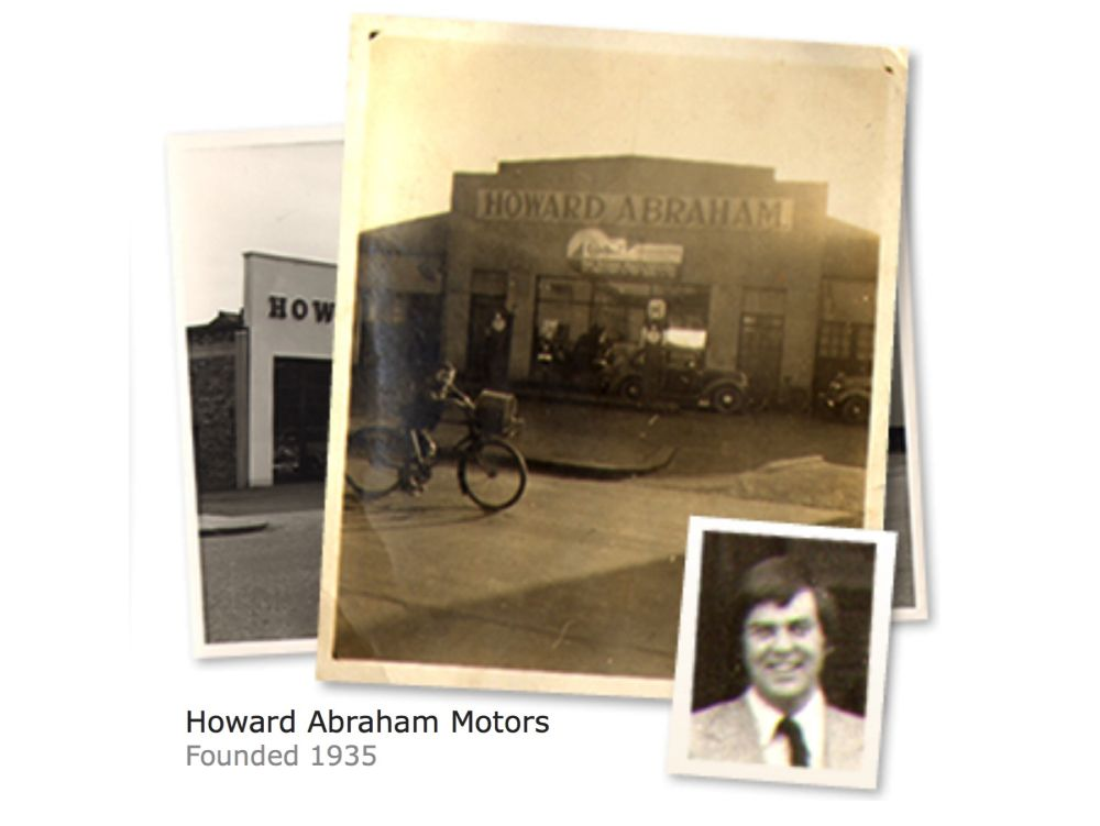 1935. Howard Abraham Motors, one, if not the oldest family car dealership in Northern Ireland