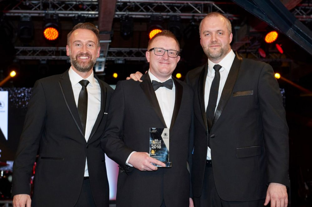 Winners 2018, Number 1 in the UK for the 5th time in 6 years for Customer Satisfaction