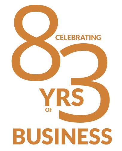 83 Years In Business