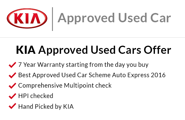 Kia Approved Used Offer