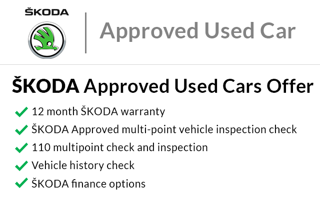 SKODA Approved Used Offer